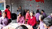 2020年大岗镇覃屋村举办第二届敬老活动