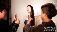 【实拍】艺考美女模特爆笑棚拍现场