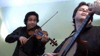 吉他与小提琴二重奏 - 维瓦尔第四季之冬 Benavides Guitar  Violin Duo