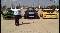 三款美国肌肉车的声音对比!
