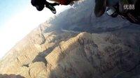 瑞士喷气飞人伊夫·罗西成功飞跃美国大峡谷 2011