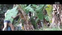 美女边腿扫断芭蕉树 有这样的女友可要小心!