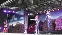 【龙哥转载】2012 奥特曼节 赛罗舞台表演 1