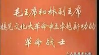 毛主席林副主席接见总参、总后、二炮革命战士