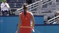 2010年WTA斯海托亨伯斯R2 佩特科维奇VS伊万诺维奇 自制HL