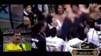 皇马32冠系列:击败毕巴夺冠后疯狂庆祝