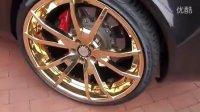 赤裸你玩钓--镶金轮子上的迈凯伦SLR全新跑车