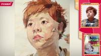 像典7头像p39彭冲色彩头像橘发胖脸绿衣男青年