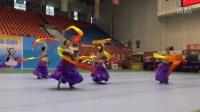 5人长扇舞成都爱双月肚皮舞教练培训参加四川希望之星舞蹈比赛