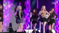[杨晃]性感黑色装扮 少女时代最新舞台Party,