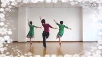 芳美广场舞原创舞蹈《雪山阿佳》背面展示,最新广场舞,藏族舞,编导刘芳