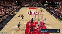 【布鲁】NBA2K16 生涯模式 勇士队23连胜!胜老鹰库里爆发(85)