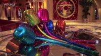「永利皇宫」Jeff Koons 的郁金香雕塑