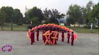 宁波卖面桥村广场舞【好运来】原创扇子舞