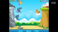 贝瓦儿歌 小游戏第一期:狼来了 贝瓦打气球保护小兔子