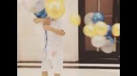 【混血儿ReciponLeo新浪微博】20160710玩气球