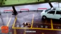 恐怖!台风妮妲登陆狂风暴雨横扫珠三角