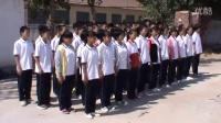 安仁镇中学队列训练