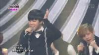 [高清现场]中字 140627 @Music Bank 防弹少年团(BTS) -- Something  现场版
