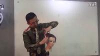 北京托尼盖教育鑫米老师最新个性风格短发剪发视频4