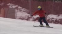 韩国自然滑雪技术05:自然的犁式转弯