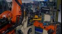 机器人汽车装配线