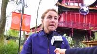荷兰中国熊猫馆欢迎中国人民友好使者星雅和武雯