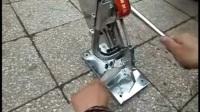 小不锈钢扎口机 逸村食用菌机械