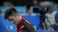 [2017QYH][男团小组赛第2轮][解放军vs北京][第4盘]樊振东vs马龙 [170829]