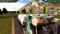 重型卡车模拟-国产卡车欧曼卡车运输管道(原奔驰 Axor 2644 6x4)