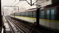 比利《上海地铁3号线》02 AC-03黄鱼308号车虹口足球场下行出站