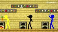 MC动画-火柴人的烘焙学院-Dinamitic