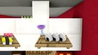 我的世界动画-怪物学院-在寿司店打工-Kefe Animations