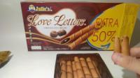 【D哥制作】每月吃播 马来西亚的巧克力蛋卷