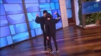 Kaycee Rice and Sean Lew on the Ellen Show