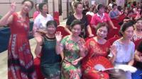 """江油旗袍艺术团太白小分队参加绵阳地区""""康德怀""""公益歌舞比赛"""