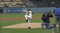Tiffany黄帕尼 帅气秀棒球 130507 KBS1 少女时代