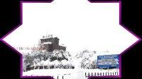 2013年(癸已年)2月19日商神马久里拍摄的南京梅山雪景