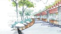 陈马扶老师  园林景观手绘(四)-广州疯狂手绘培训视频教程