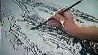 李可染先生国画山水示范
