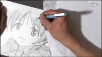 【MYGODESS手绘系列作品】ストライクウィッチーズ 100分でリーネ軍曹描いてみた