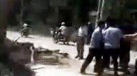 江苏省靖江市西来镇,行政执法人员暴力执法