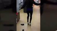 【奇趣视界】妹子们穿高跟鞋后悲催搞笑行为集锦!太滑稽了!