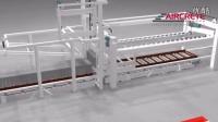 荷兰AIRCRETE切割设备视频