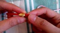 手工编织手链的方法:穿珠四线金刚结手绳