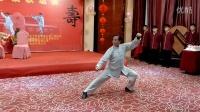 朱天才大师组合太极拳精彩表演 陈氏太极拳小架 新架 老架反打
