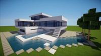 【我的世界】Minecraf 建筑 - Best modern House