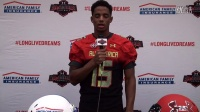 Cordell Broadus- American Family Insurance Selection Tour Jersey Presentation