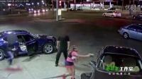 美国再发枪击案:女子裙下掏枪 连击男子数枪没打死 监控画面曝光