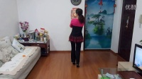 艾尼丽清姐妹原创广场舞《甘心情愿》编舞背面演示丽清